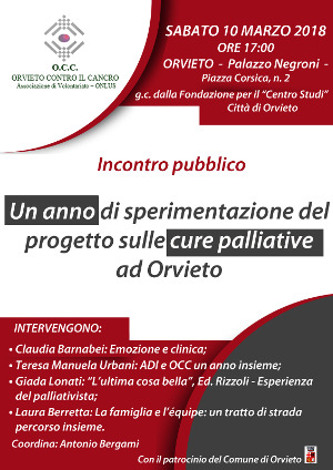 OCC - CURE PALLIATIVE